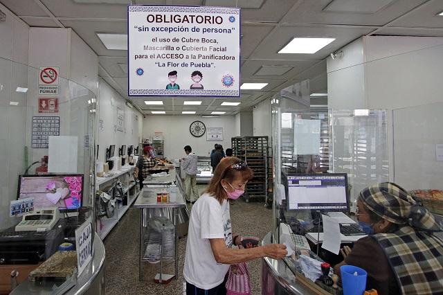 Inicia Nueva Normalidad para algunos comercios en Puebla
