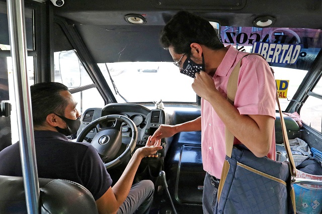 Peligran ante Covid choferes del transporte y repartidores: AMTM