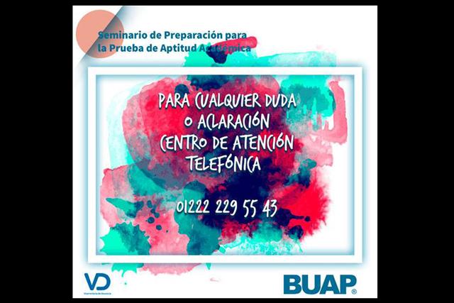 Listo, seminario para preparar ingreso a licenciaturas BUAP