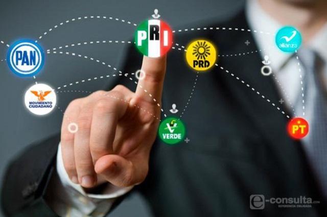 Con chapulines van PRD y MC por diputaciones federales de Puebla