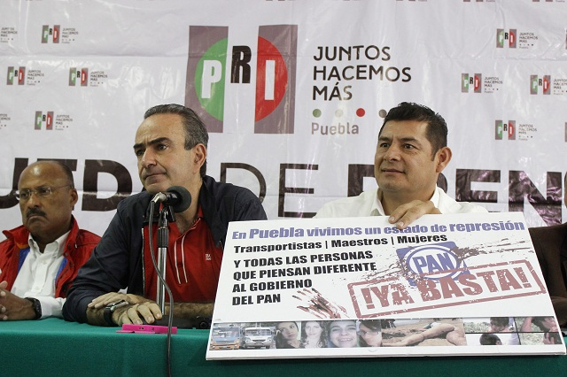 PRI denuncia a Banck y Santizo por abuso de autoridad