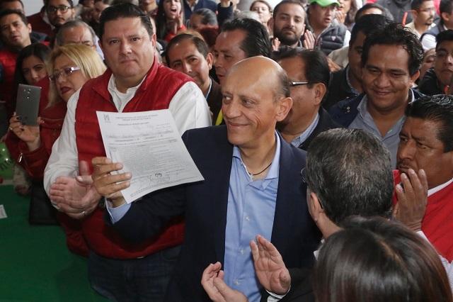Lastiri y Ceja cierran registros para candidatos federales del PRI