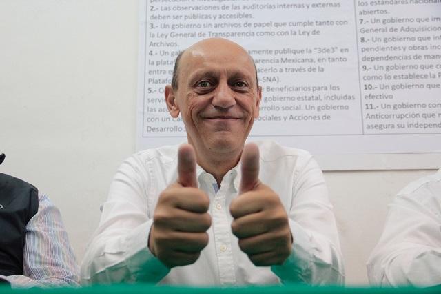 Después de 2 días reaparece Juan Carlos Lastiri