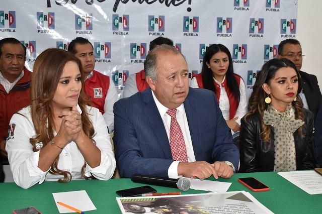 Solicita PRI prudencia a Barbosa para no polarizar a la sociedad