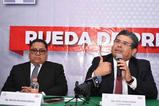 Nibardo Hernández coordinará bancada del PRI en el Congreso