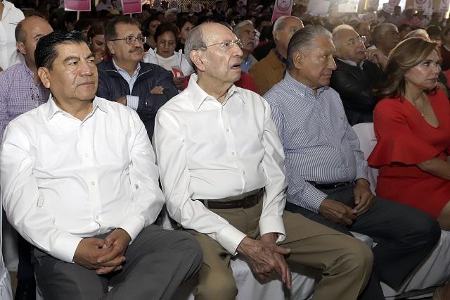 Marín apoyó a candidatos a la grande y a diputados en 9 años