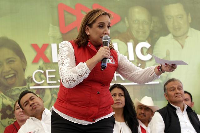 Confirma PRI visita de Ruiz Massieu para apoyar a Jiménez Merino