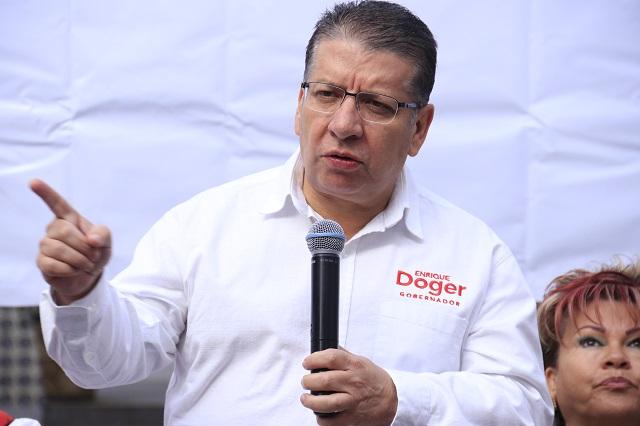 Carrancá y todo el gabinete deben irse por incompetentes: Doger