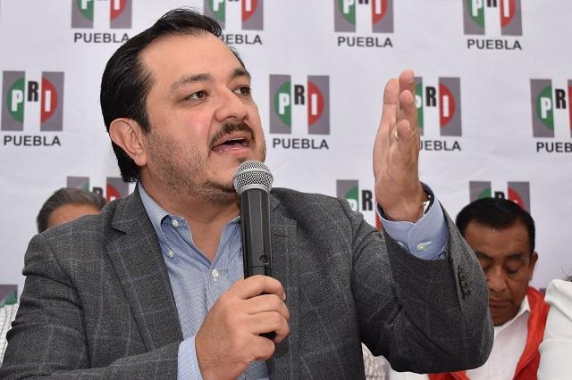 Por Covid-19 frenan elección de dirigente del PRI en Puebla