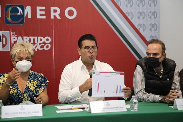 PRI y Antorcha exigen triunfos en Zacapoaxtla y Ocoyucan