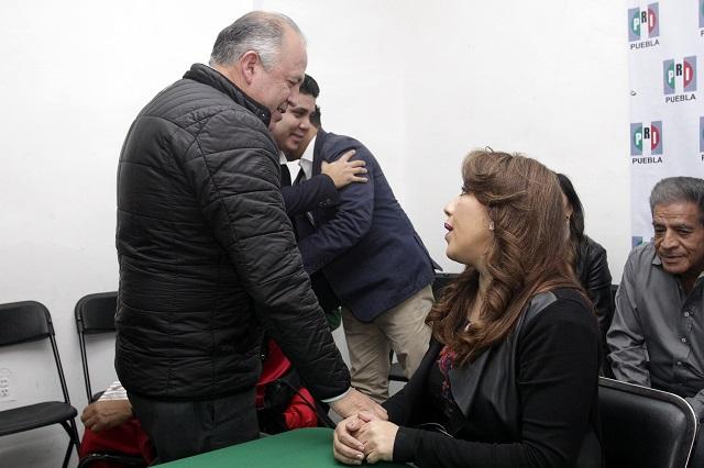 Deja Lorenzo Rivera la dirigencia del PRI en Puebla