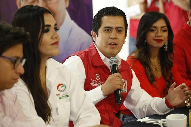Jóvenes priistas mantendrán apoyo a Jiménez Merino, aseveran