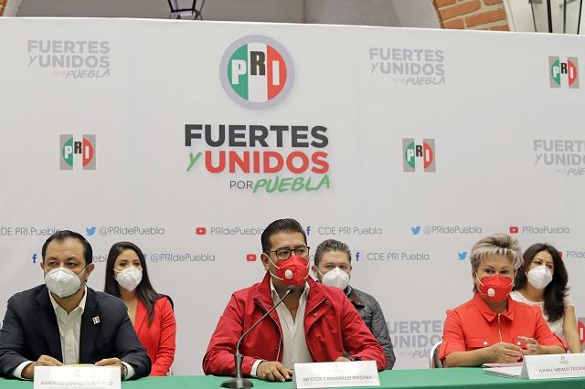 PRI abre la puerta a excluidos de otros partidos: Camarillo