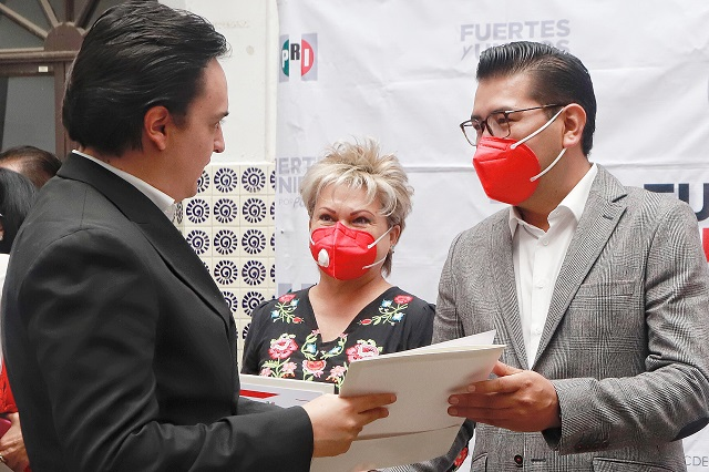 Nombran a Humberto Fernández líder del PRI en Puebla capital