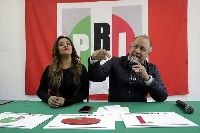 PRI admite un padrón inflado en Puebla y va por purga