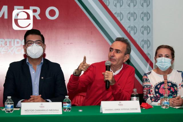 PRI nombra a Estefan Chidiac coordinador de bancada local