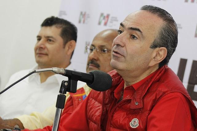 Ante el INE denuncia PRI rebase gastos de campaña de Gali