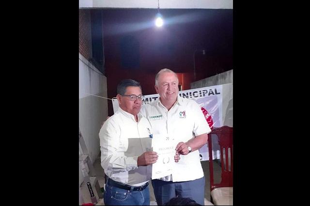 PRI busca recuperarse como cuarta fuerza política en Atlixco