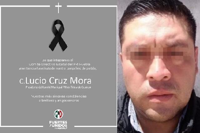 Matan a presidente del PRI en Tetela de Ocampo