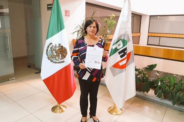 Josefina García busca diputación federal con la coalición PRI-PAN-PRD