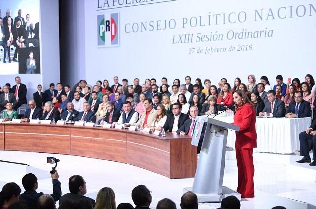 Avala PRI solicitar que el INE organice elección de su dirigencia nacional