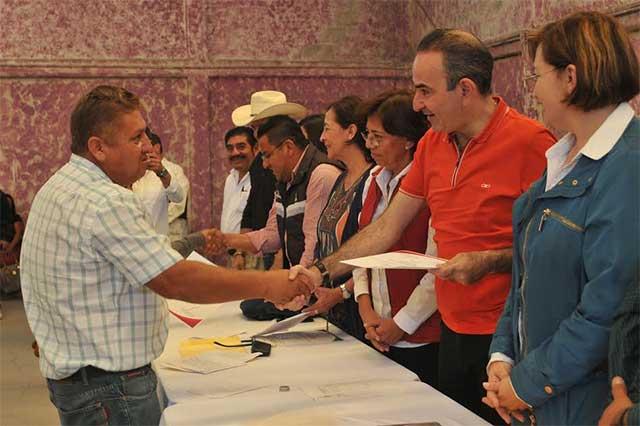 Concluye PRI primera etapa de reestructuración de comités municipales