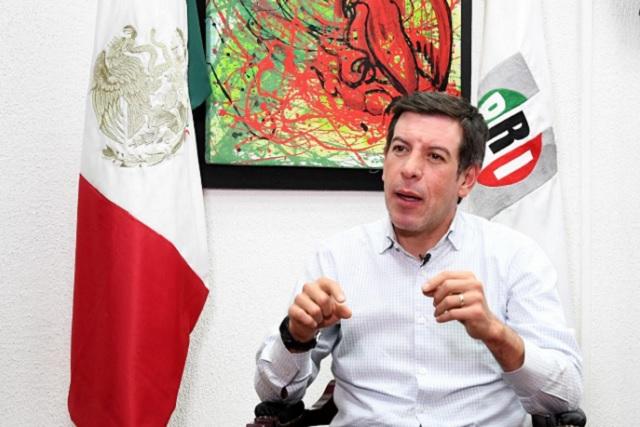 Miguel Castro Reynoso, delegado del CEN-PRI en Puebla capital