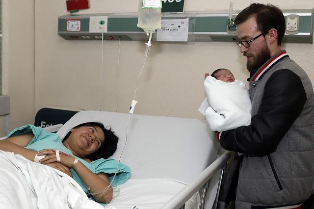 Nace en IMSS La Margarita el primer poblano del 2020