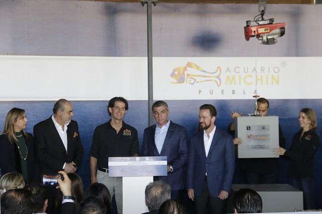 Construirán acuario y hotel en el centro comercial Parque Puebla
