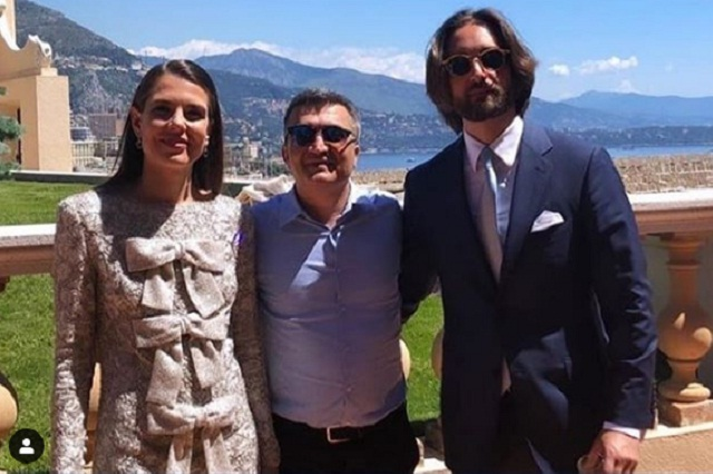 Carlota Casiraghi y Dimitri Rasamm ya son marido y mujer