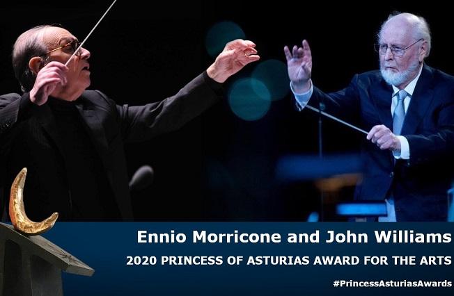 Galardonan a Ennio Morricone y John Williams con Premio Princesa de Asturias