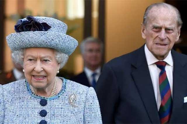 Hospitalizan al príncipe Felipe, esposo de la Reina Isabel II de Inglaterra