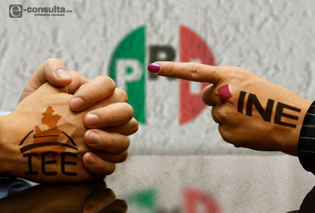 Exige PRI al INE atraer elección y destituir a consejeros poblanos