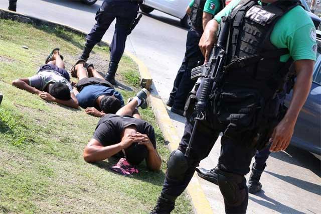 FGE: prisión preventiva a detenidos por terrorismo y robo agravado