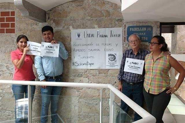 Trabajadores de la cultura protestan contra ley que privatiza patrimonio