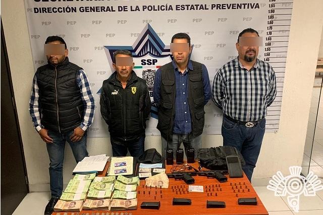 Detienen a guardias privados de CDMX con dinero y armas