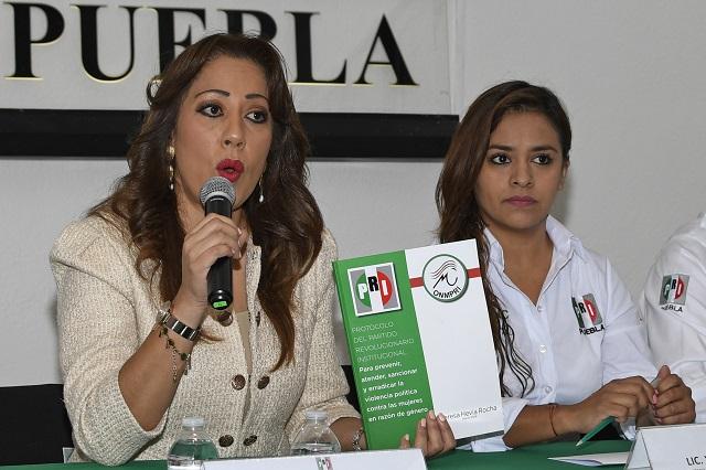 Contabiliza PRI 89 agresiones a candidatas en Puebla en 2018