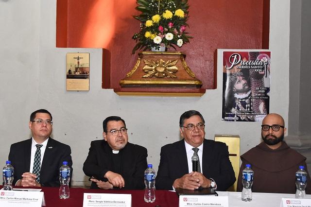 Procesión de Semana Santa sin cambios por coronavirus en Puebla