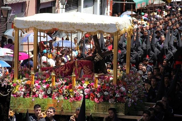 Este será el recorrido de la procesión de Viernes Santo en Puebla
