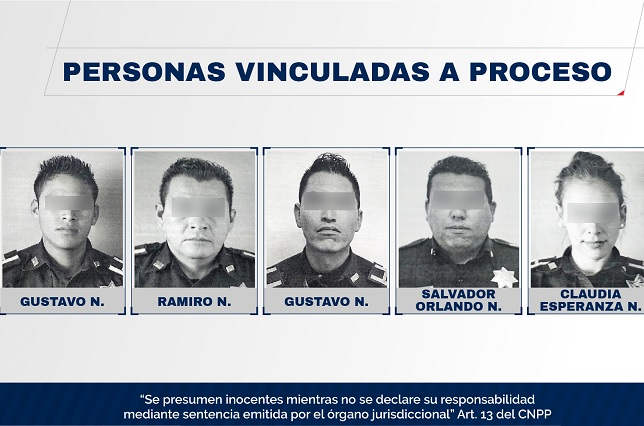 Por abuso, lesiones y robo, proceso a 5 policías de Puebla