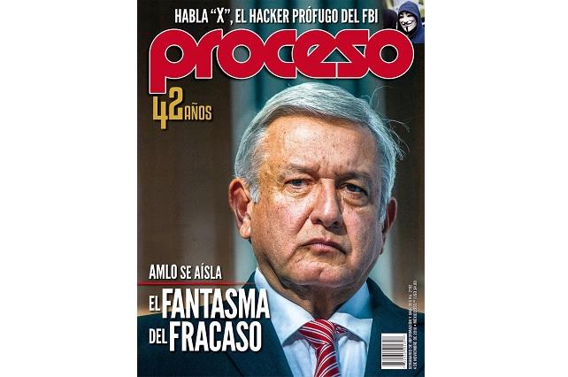 Beatriz Gutiérrez Müller pelea con la revista Proceso y critica su portada