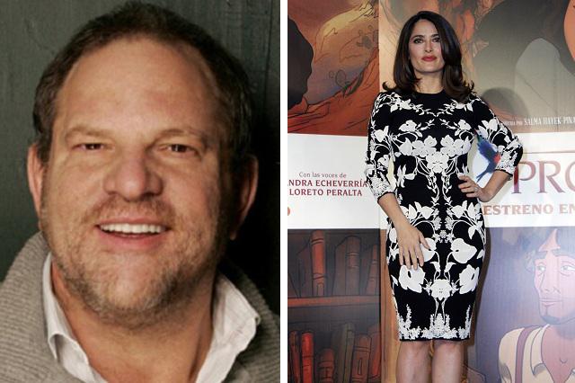 Harvey Weinstein niega acusaciones de acoso sexual de Salma Hayek