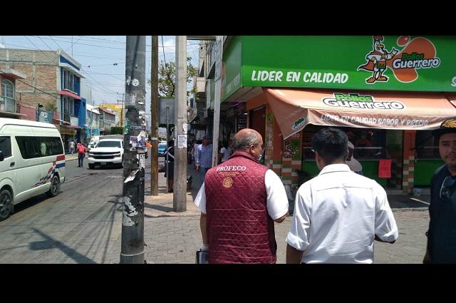 Inspecciona Profeco tiendas que elevaron precios en Tehuacán