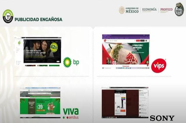 Vips y otras tres empresas señaladas por publicidad engañosa
