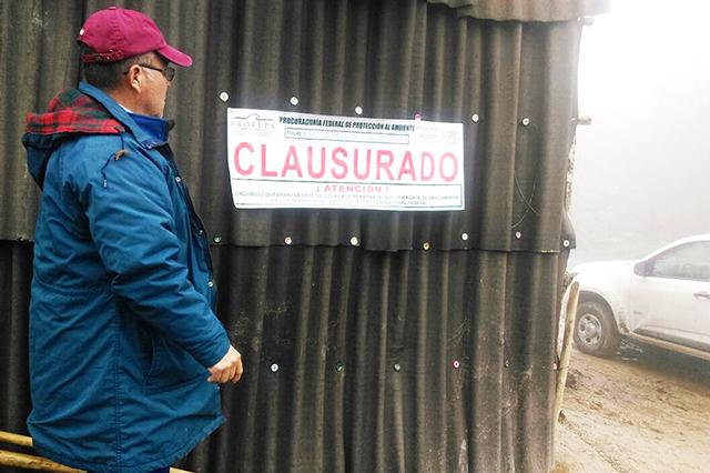 Clausura Profepa predio para Construir hotel en Cuetzalan