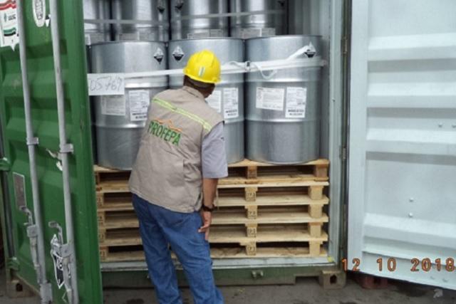 En Puebla y 5 estados más asegura Profepa residuos peligrosos