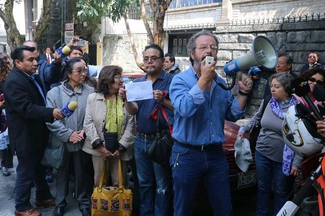 Profesores de la UNAM exigen que AMLO les aumente los salarios