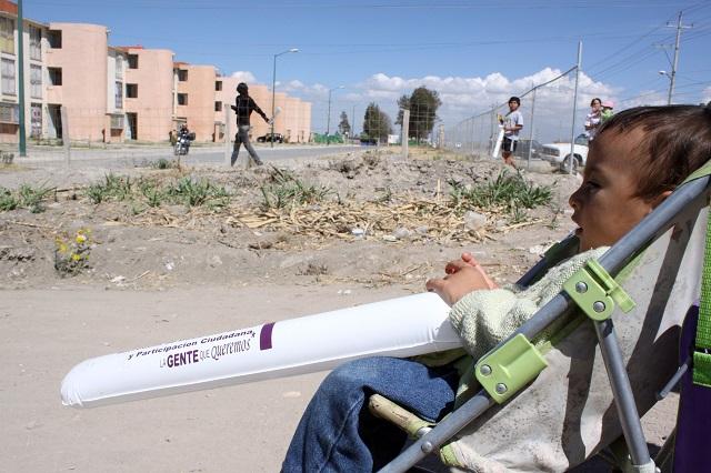Arrolló a mujer en Castillotla y busca acuerdo reparatorio