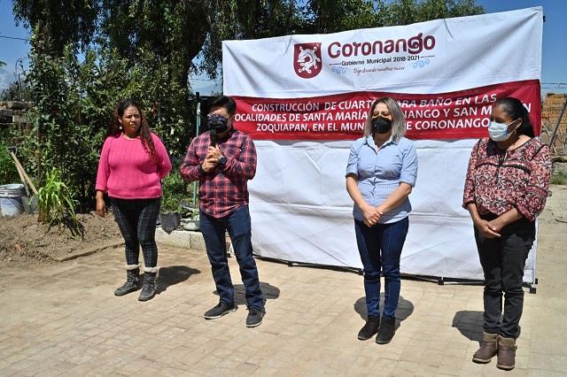 """Inicia en Coronango el programa """"Dignificando Hogares"""""""