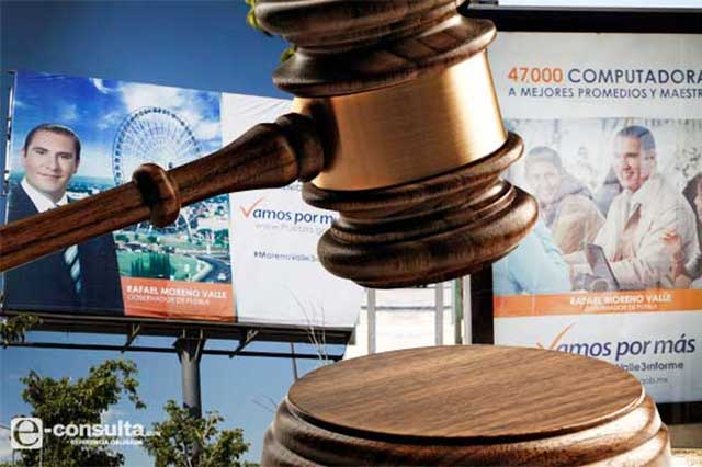 TEPJF corrige censura del INE a Moreno Valle